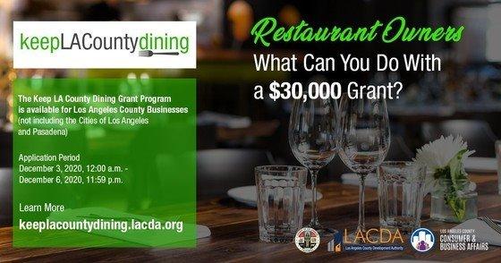 Keep LA County Dining