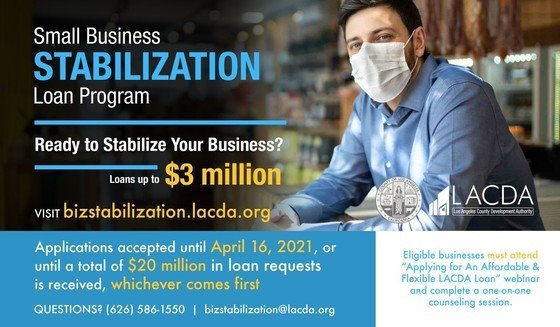 Small Biz Stabilization Loan Program