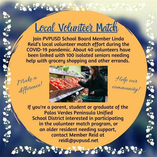 Local Volunteer Match
