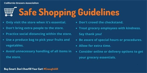 Shopping Guidelines