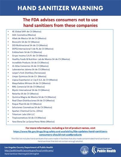 Hand Sanitizer Brands