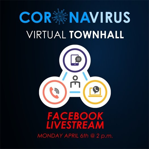 COVID-19 Facebook Live Town Hall Meeting