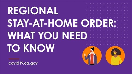 Regional Stay Home Order