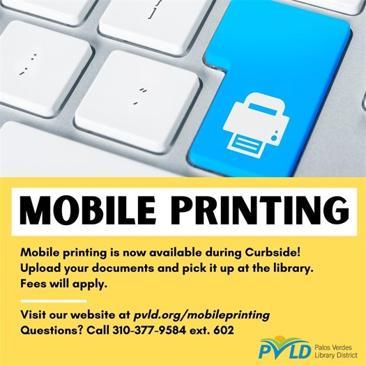 PVLD Mobile Printing