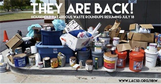 Household Hazardous Waste Roundups