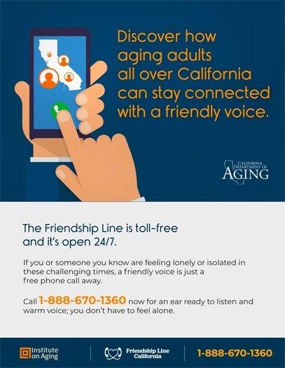 Friendship Line California