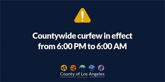 Curfew in Effect