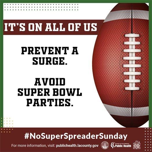 No Super Spreader Sunday