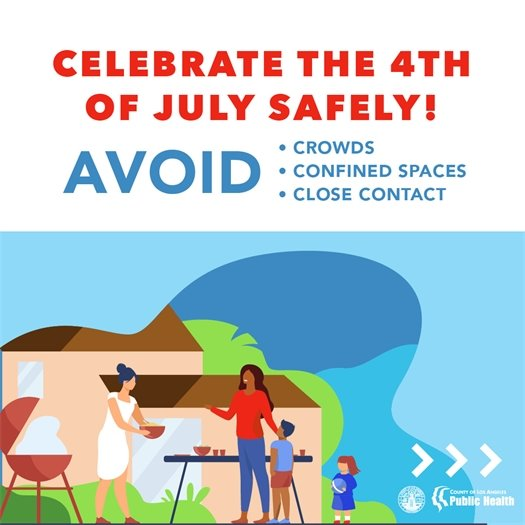 Celebrate the Fourth of July Safely