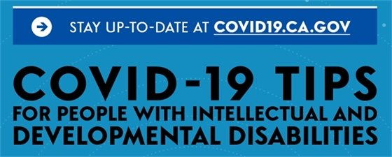COVID-19 Tips for People with IDDs