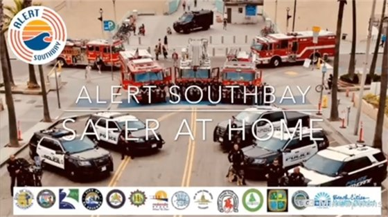 Alert SouthBay Safer at Home PSA
