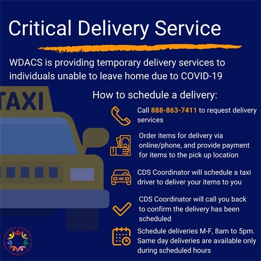 Critical Delivery Service
