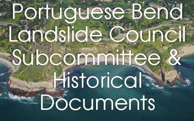 Portuguese Bend Landslide Committee and  Historical Documents (400x250)