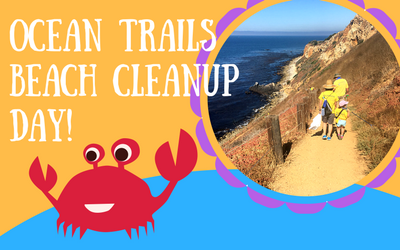 ocean trails reserve beach cleanup