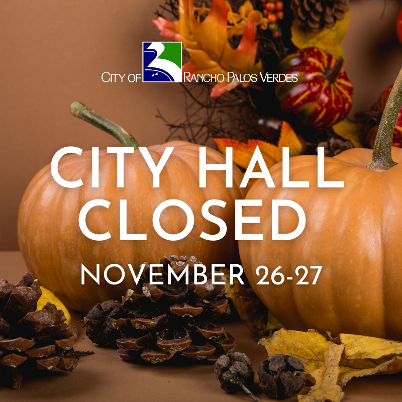City Hall Closed Thanksgiving