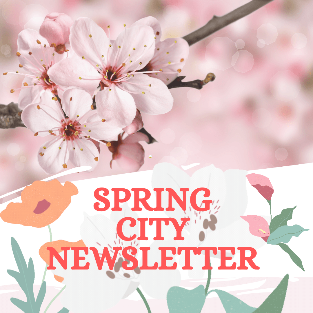 Spring City Newsletter Cover