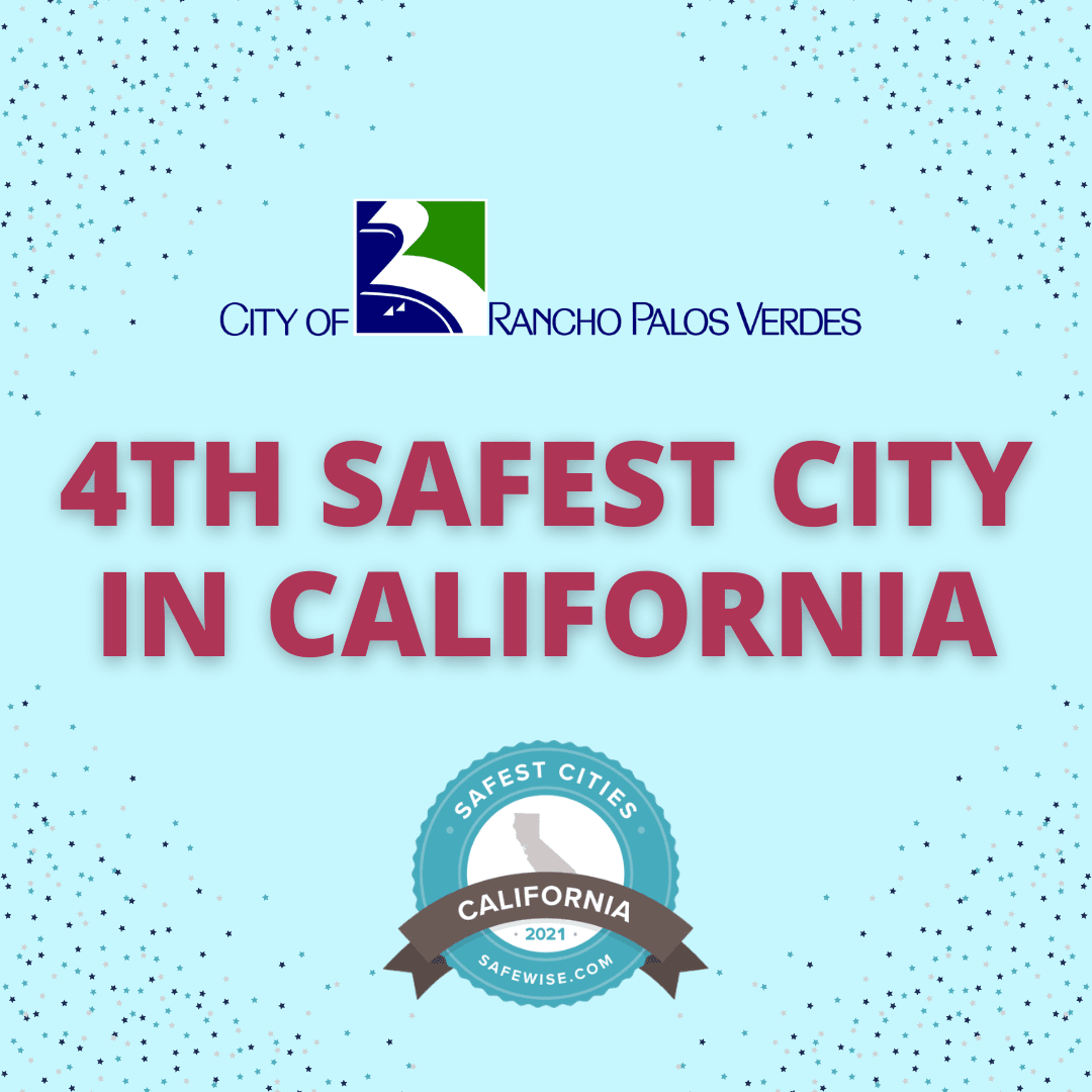 RPV is Fourth Safest City in CA