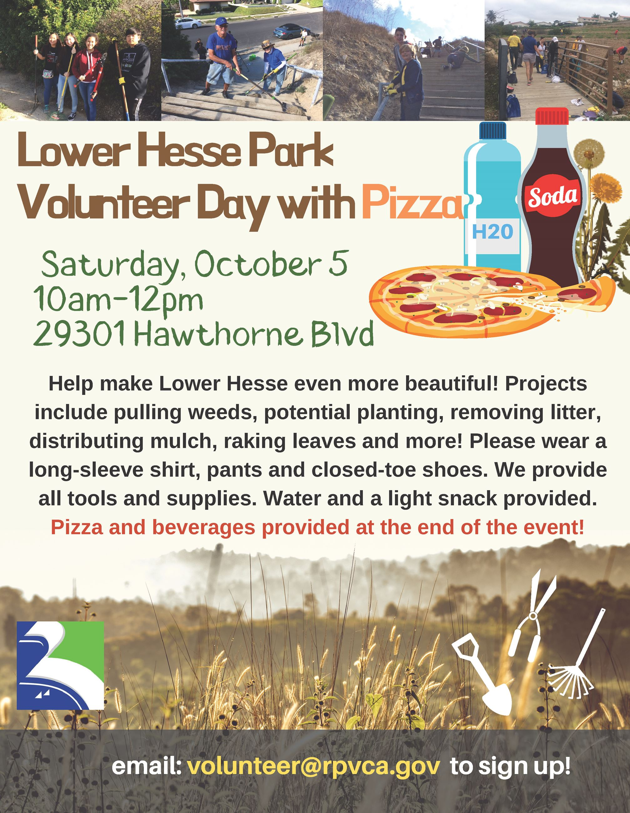 Lower Hesse Volunteer Event