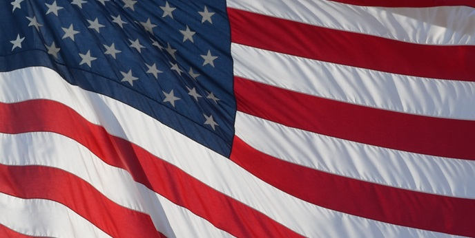 Rotating Images - Flag Close Up